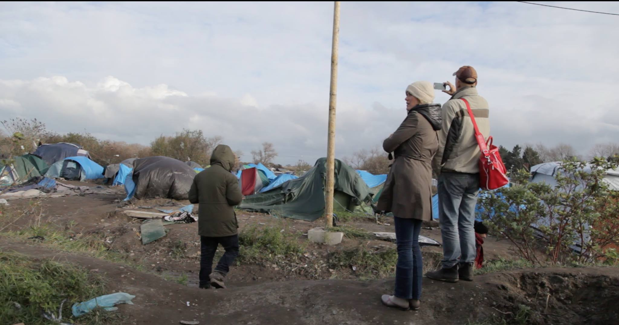 What do you stand for? #istand - REFUGEES camp in Calais FRANCE - Leon Aarts