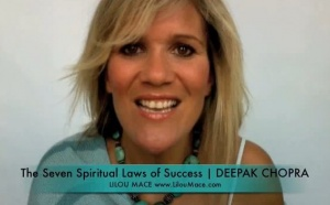 A Lesson from the 7 SPIRITUAL LAWS OF SUCCESS by Deepak Chopra