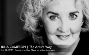 Julia Cameron shares her tools to develop Spirituality & Creativity