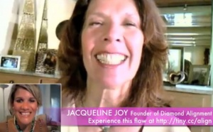 Get in the flow! Diamond Alignment Experience | Jacqueline Joy, Founder