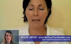 Lilou's Live intuitive reading by Angie Arkin (Part 2/2)