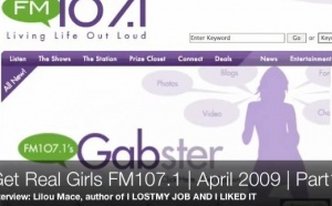 'I lost my job and I liked it 'Radio interview part 1 on 'Get real girls' | April 09