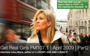 Lilou book radio Interview GET REAL GIRLS (PART 2) | April 09