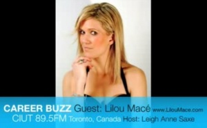 Radio Career Buzz Toronto with Lilou - Law of attraction PART 1 - Meeting Oprah Winfrey