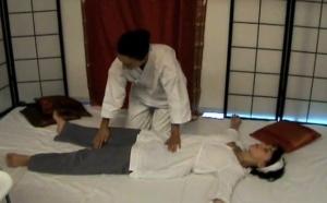 Ohashiatsu demonstration by Barbara Aubry