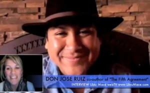 We are all messengers! Don Jose Ruiz, co-author of the Fifth Agreement