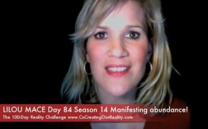 Manifesting abundance in Paris Day 84 Season 14 100-Day Reality Challenge, Lilou Mace