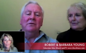 Synchronicities leading to Robert Young met Barbara