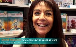 (FR) LE TANTRA ET PRATIQUES TANTRIQUES avec Diane Bellego au salon du livre 2010