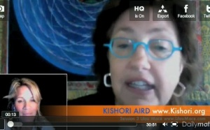 (FR) Scéance 3 Coaching de convergence de Guérison avec Kishori Aird pour Lilou Macé