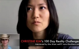 Christine's 100 Day Reality Challenges manifestations and practices