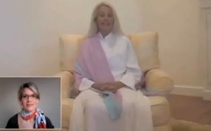Immediate frequency booster!!!! Higher-self meditation with Chris Griscom