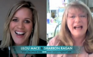 "Dream Team ""Genius"" & Updates on Lilou's Juicy Living Tour ( Part1/2) with Sharron Ragan NOVEMBER 3rd 2010"