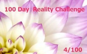 100 Day Reality Challenge・・・・4/100 変な時間に寝てしまい、目が覚めちゃいました^^;
