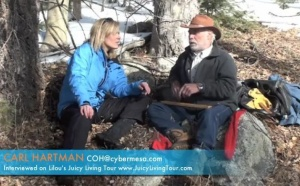 One on one wilderness healing experience part 1 - Carl Hartman, New Mexico