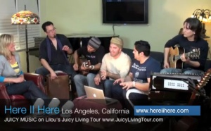 Interview Here II Here & Juicy Living Tour