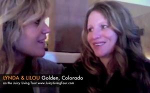 Lynda Mangoro joins Lilou's tour in Colorado from England for a week! fun fun