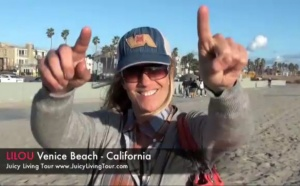 Hello from Venice Beach, California before heading to Florida!