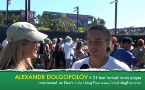 Alexandr Dolgopolov, ranked 21 Tennis ATP @ Sony Ericsson Open 2011
