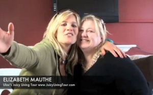 Juicy volunteer Elizabeth Mauthe