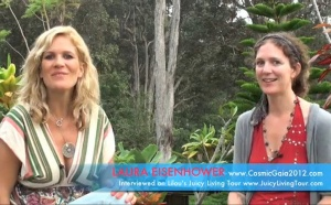 Laura Eisenhower - Divine Union and Spiritual Oneness protect us from global threats