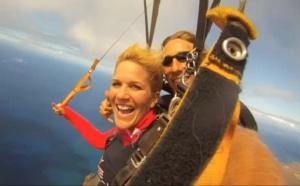Skydiving in Kaua'i, HAWAII