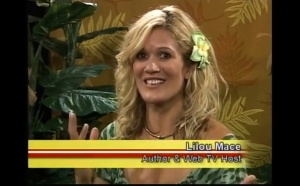 "Lilou cracking open Helena's heart - Oahu, Hawaii on ""Living Delicious"" TV"