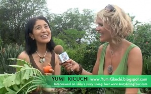 Japanese environmental activist - Yumi Kikuchi, Big island
