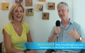 Lilou's worldwide web vision exposed in this interview by Dr Allan Hunter, Boston MA