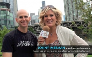 Cancer survivor Jonny Imerman shares his life lessons
