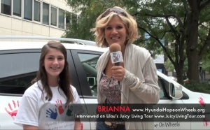 Brianna's journey to Wellness - Hope on Wheels