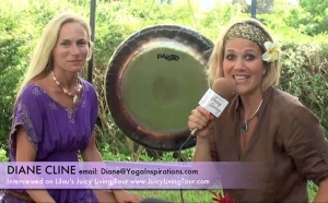 Sound Healing with the Gong - Diane Cline, Kauai Hawaii