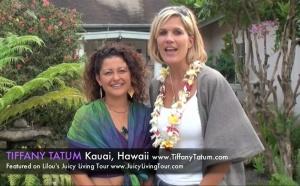 Tiffany Tatum's Kauai Gaia temple