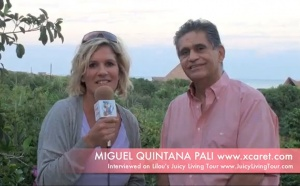 Miguel Quintana owner of Xcaret: a soulful experience of Mexico!!