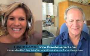 Foster Gamble on Thrive Movement movie, Free Energies, Money, Presidential & Conspiracies