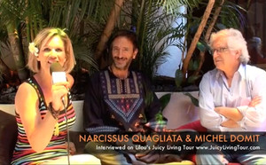 The importance of stopping the mind! Narcissus Quagliata & Michel Domit at El Satuario Mexico