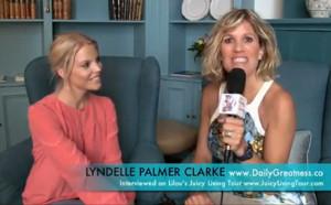 Lyndelle Palmer Clarke, Australian Idol 2006 finalist wanted a deeper meaning to her life