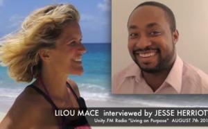 Living on Purpose - Lilou interviewed on Unity Radio FM by Jesse Herriott