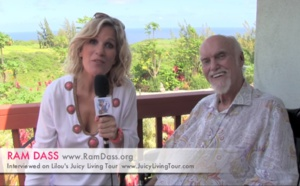 Ram Dass - The Guru is within! Maui - Hawaii