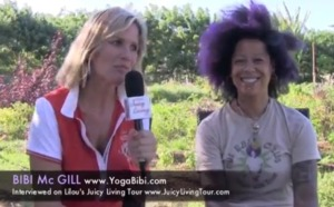 Bibi McGill: From Beyonce lead guitarist to yogi & health food entrepreneur