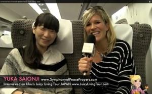 Raising the consciousness of humanity & World Peace - Yuka Saionji, Japan