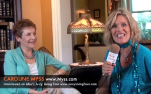 Caroline Myss - Freedom of humbleness, Finding your light, Mystical path and Grace