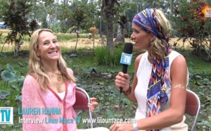 Pregnant at 46! - Sacred fertility yoga - Lauren Hanna, Bali