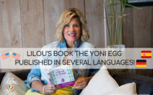 Lilou Mace's book The Yoni Egg published in several languages!